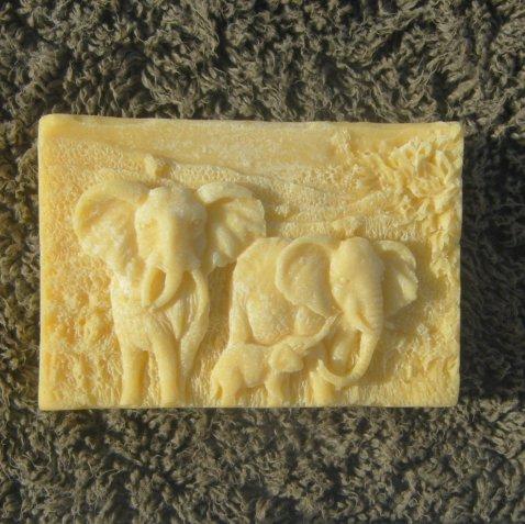 13th Fairy Soapcraft Honouring Elephants Shea Butter Bar
