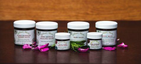 Gillians Herbs Salves