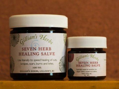 Seven Herb Healing Salve