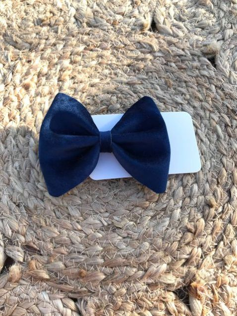 Oh Sweet Bow - Large Velvet Pinch Bows