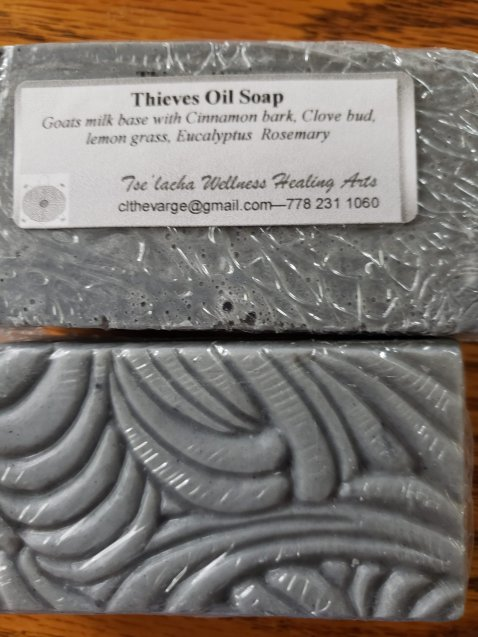 Tselacha Wellness Thieves Oil Soap
