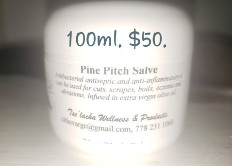 Tselacha Wellness Pine Pitch Salve