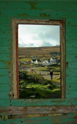Framed, Achill Island, Ireland