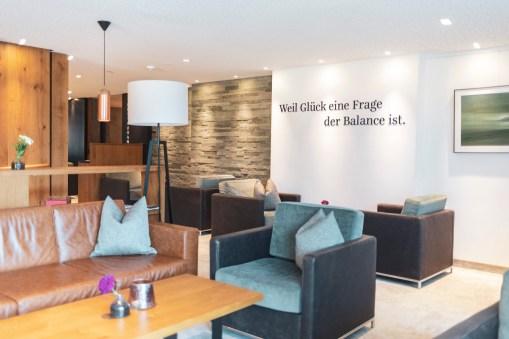 Lounge im Sportresort Hohe Salve