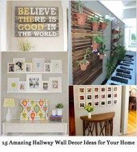 15 Amazing Hallway Wall Decor Ideas for Your Home - Lil ...