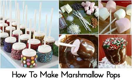 How To Make Marshmallow Pops - Lil Moo Creations