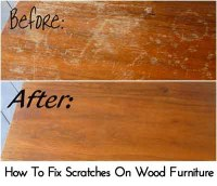 How To Remove White Heat Stains On Wood Table - Lil Moo ...