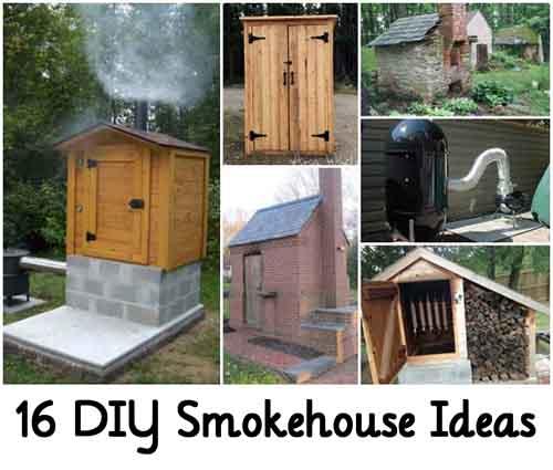 16 DIY Smokehouse Ideas Lil Moo Creations