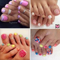 44 Easy And Cute Toenail Designs for Summer - Lil Moo ...