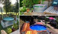 DIY Galvanized Stock Tank Pool to Beat The Summer Heat ...