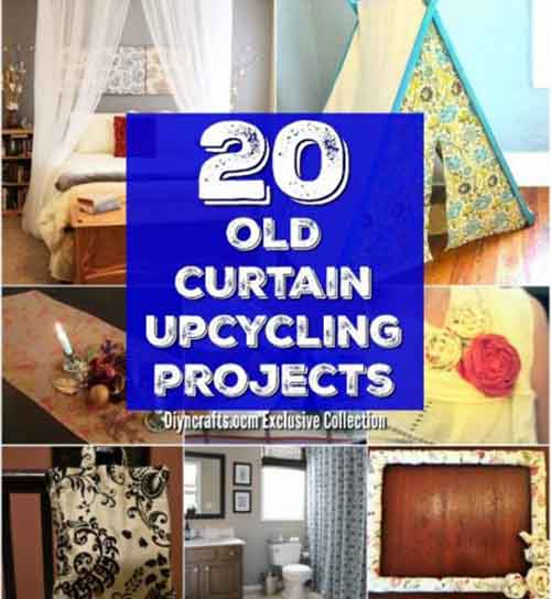 20 Repurposing Ideas To Make Good Use Of Old Curtains Lil Moo