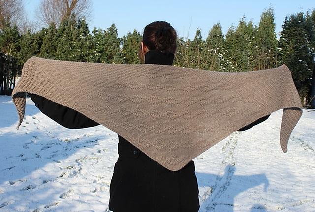modele de tricot de chale