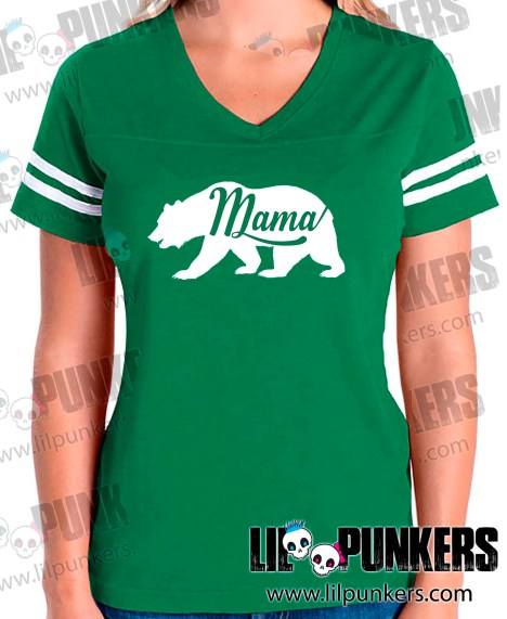 mama-bear-green-girls-football-shirt