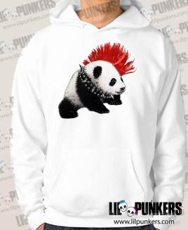 punk-rock-panda-Hoodies-white-lp