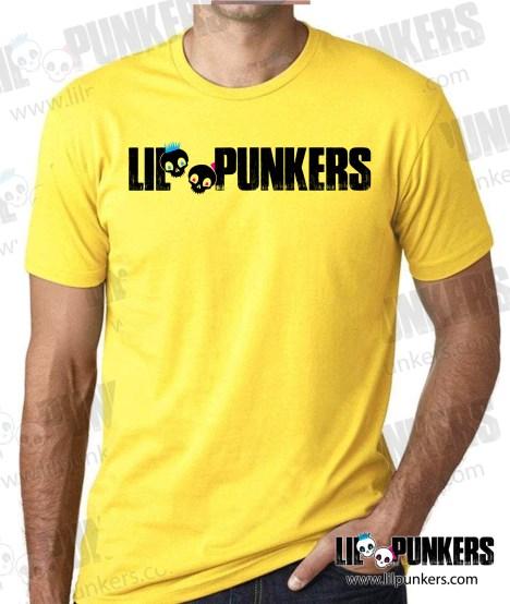 lil-punkers-logo-yellow-shirt