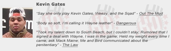 Kevin Gates Quotes From Songs - MVlC