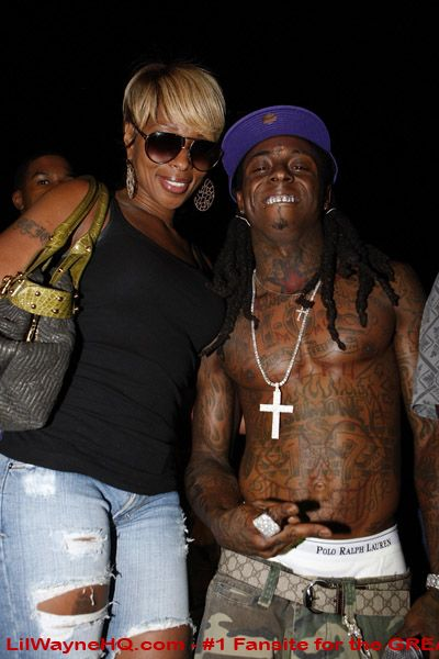 Lil Wayne Chest Tattoos