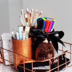 Diy Pinterest Desk Decor Organization Tips Giveaway Lily Like