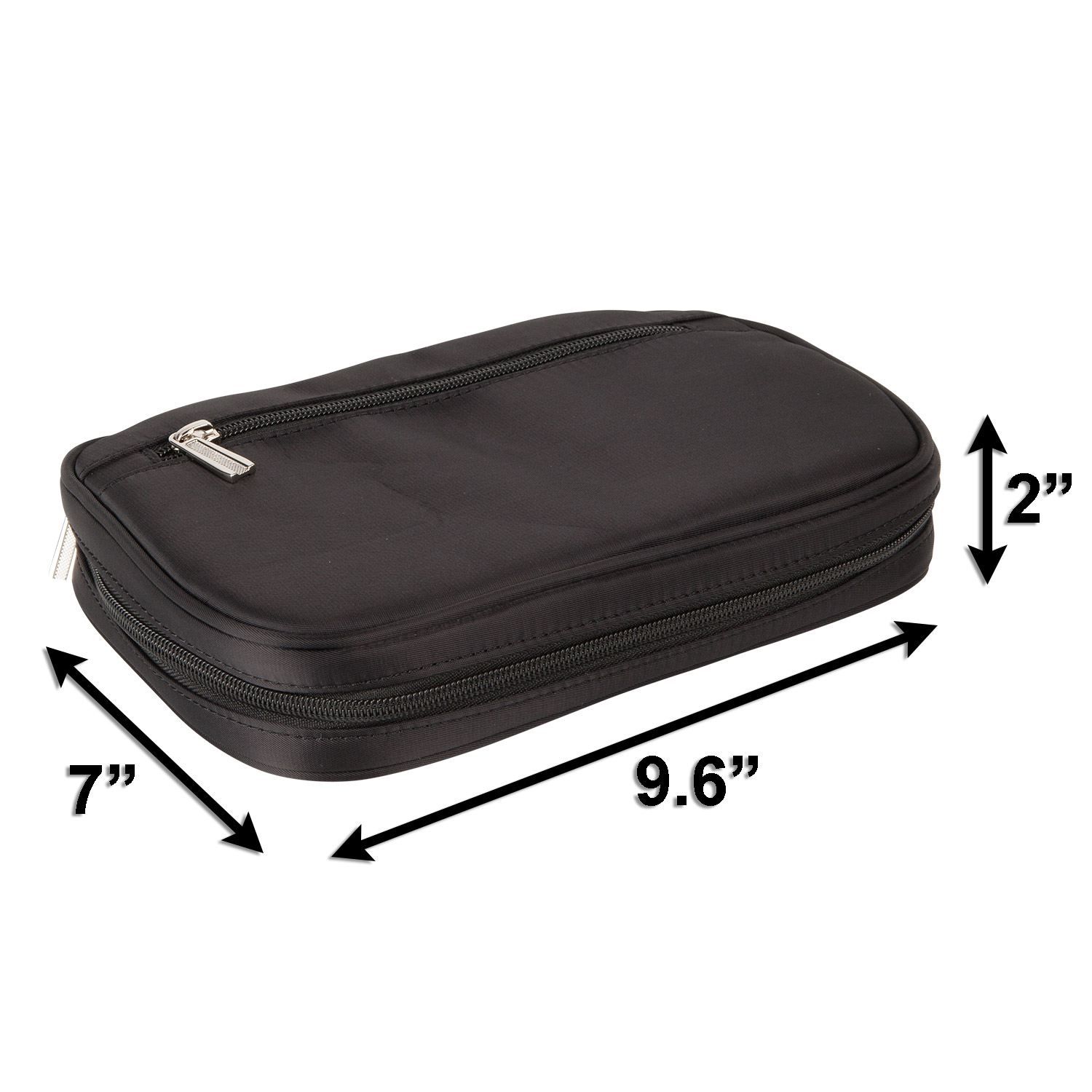 Lily Drew Travel Jewelry Storage Carrying Case Organizer With Removable Pouch Black Lily And Drew