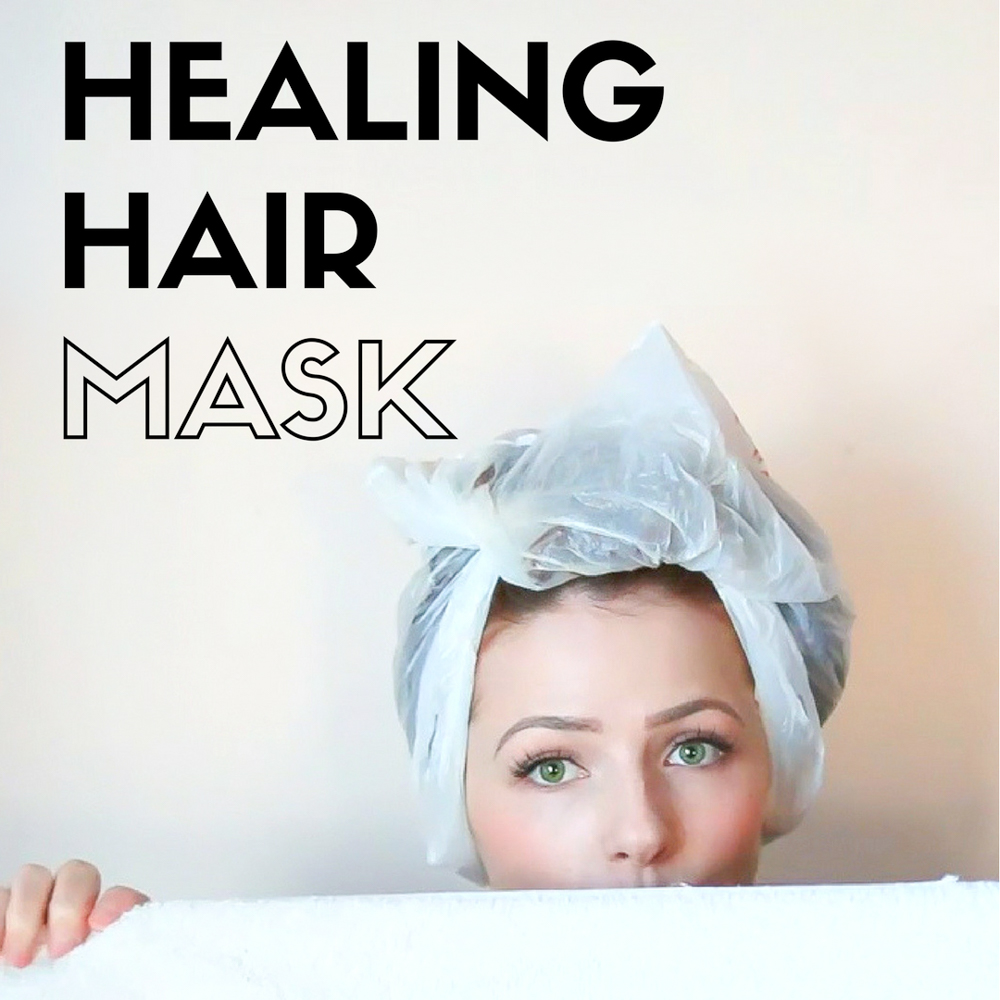 Healing, Volumizing, exfoliating Homemade Hair Mask