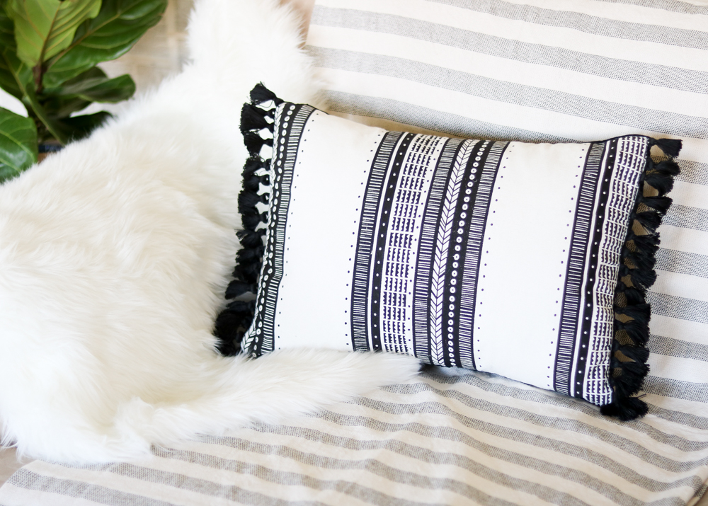 throw pillow diy
