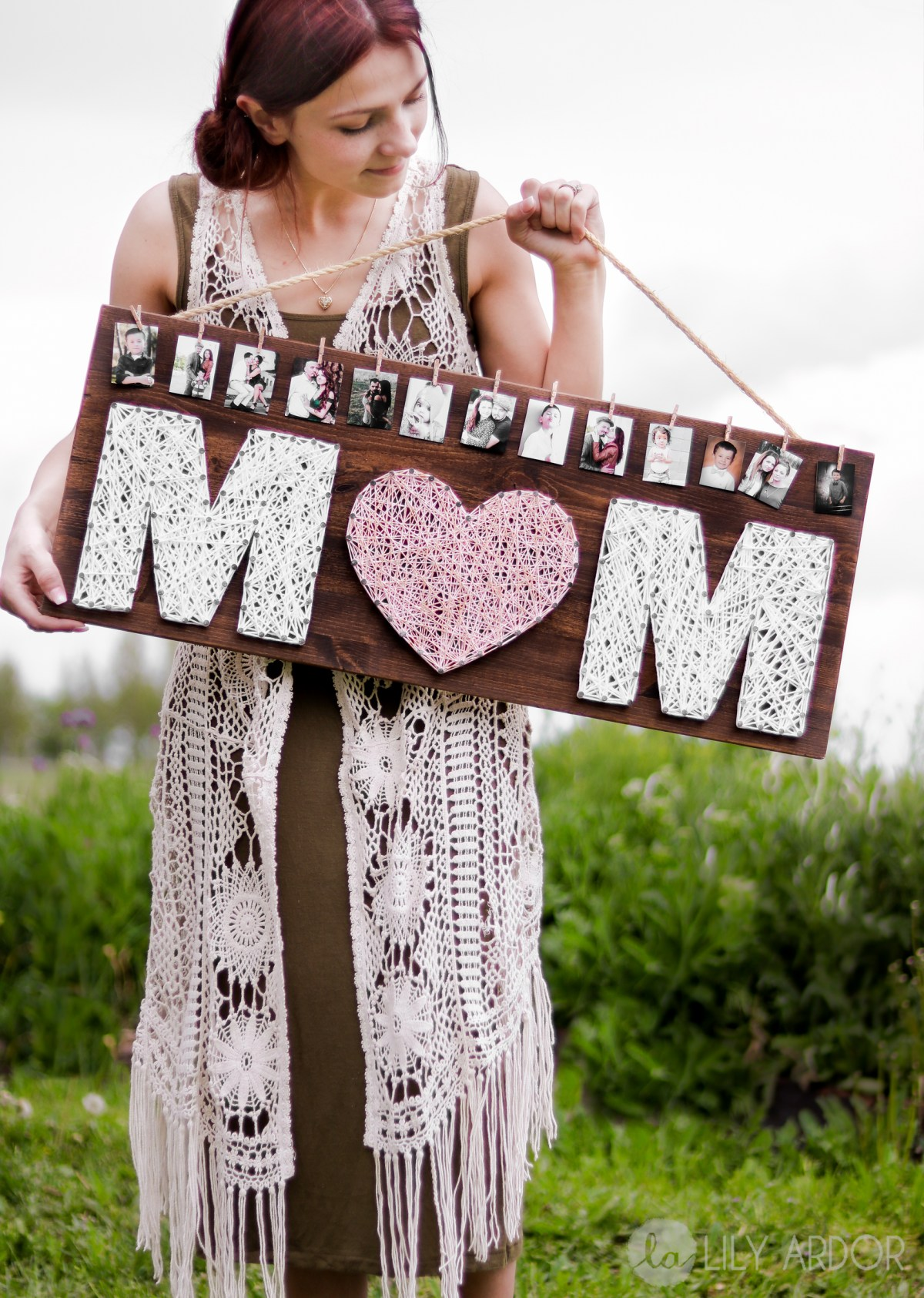 Homemade Mother 39 S Day Gift Idea Diy Rose Gold Gift