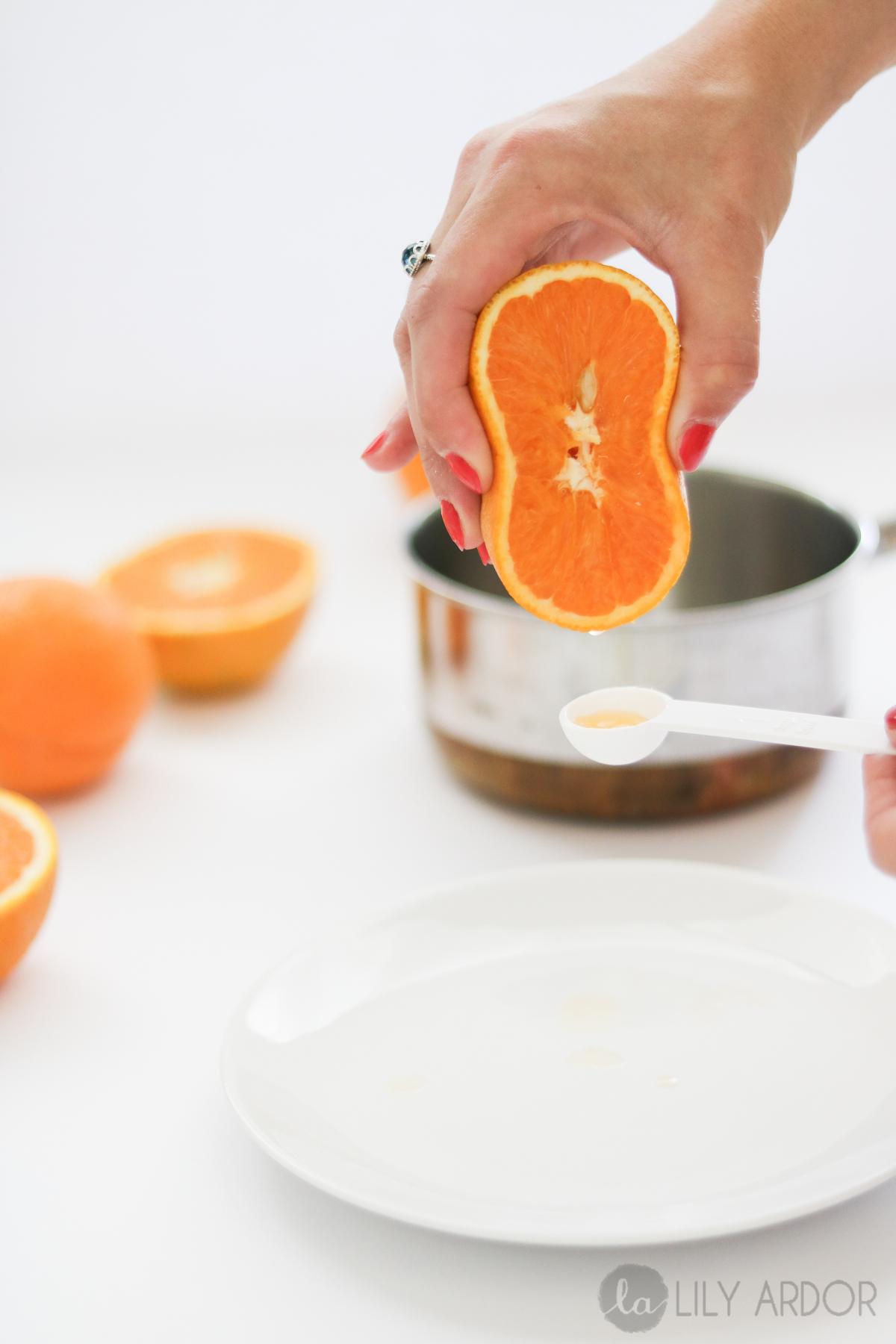 diy lip balm- orange marmalade lip salve | lily ardor