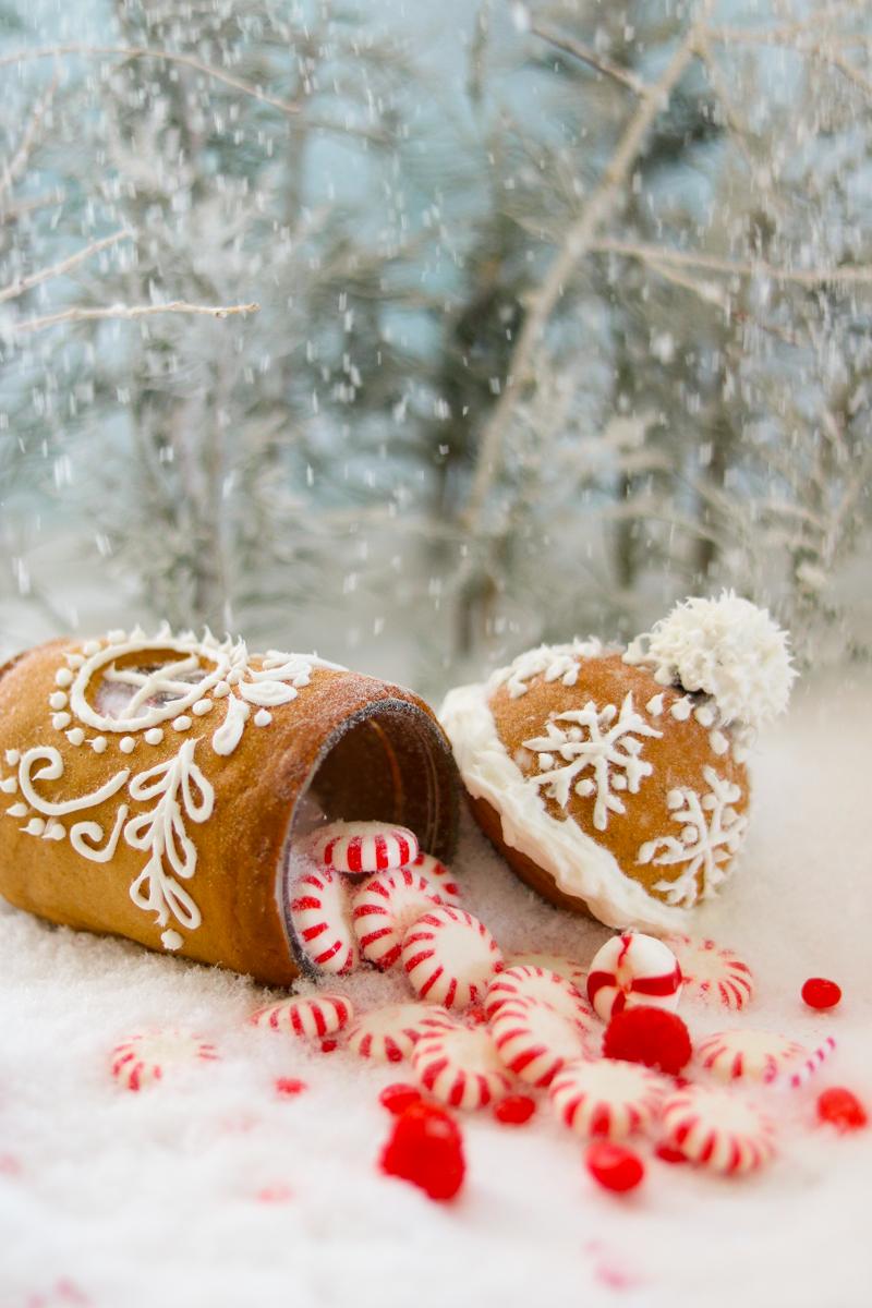 Gingerbread house DIY
