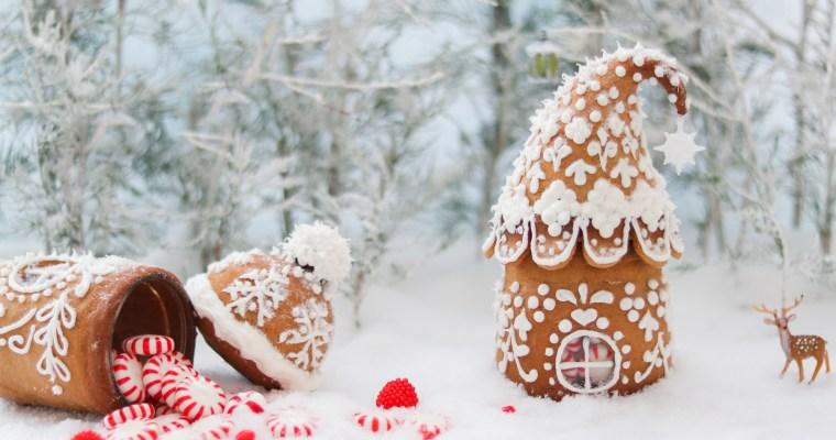 Mini Gingerbread Houses