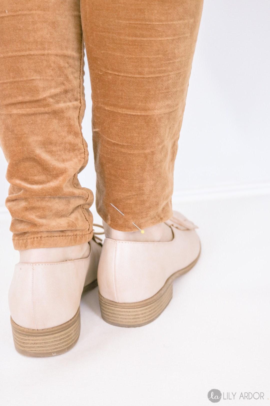 How to hem pants like a pro