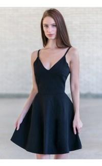 Little Black Dress, Cute Black A-Line Dress, Black Party ...
