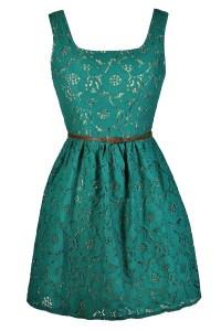 Jade Lace Dress, Teal Lace Dress, Green Lace Dress, Teal ...