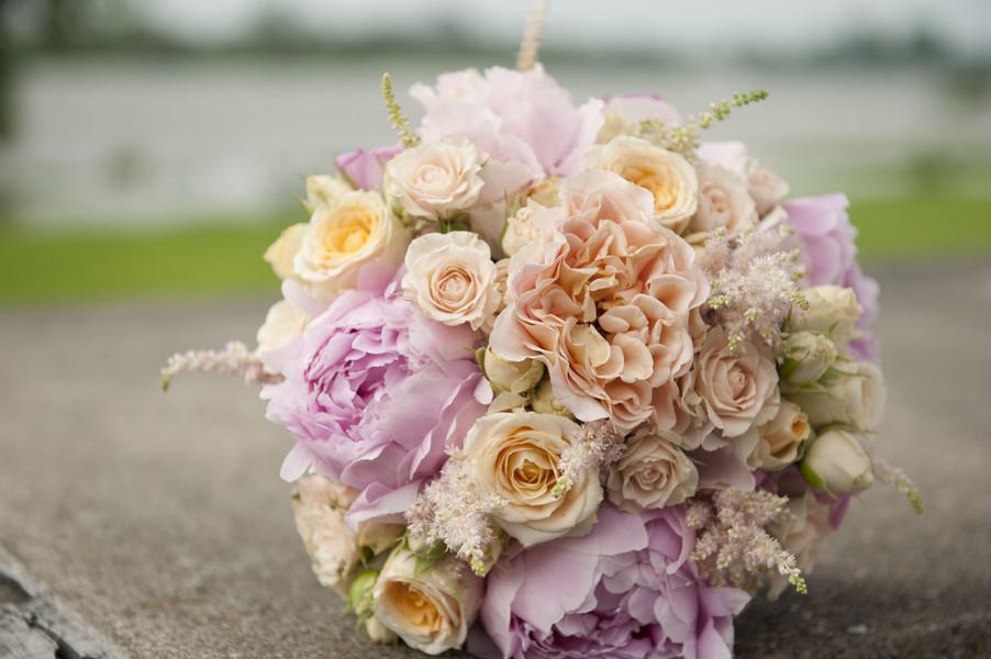 Lily Deluxe Blumen  Brautstrau