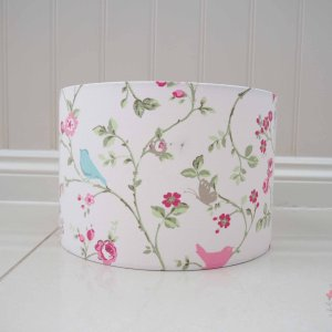 Available now - Bird Trail Rose 30 cm x 20 cm Ceiling shade