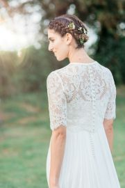 wedding hair lily pebbles