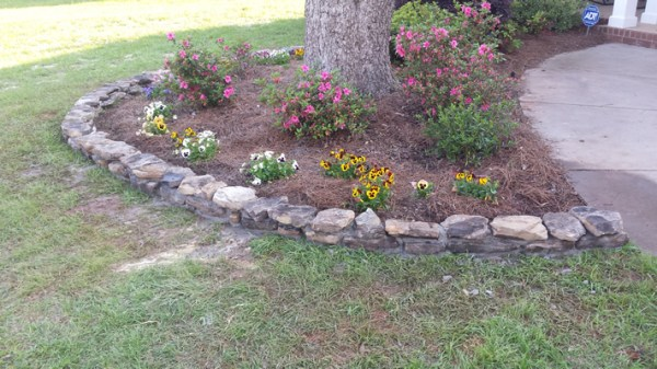 stone work lily landscaping