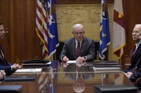 Image Jeff Sessions recusal over Russia investigations