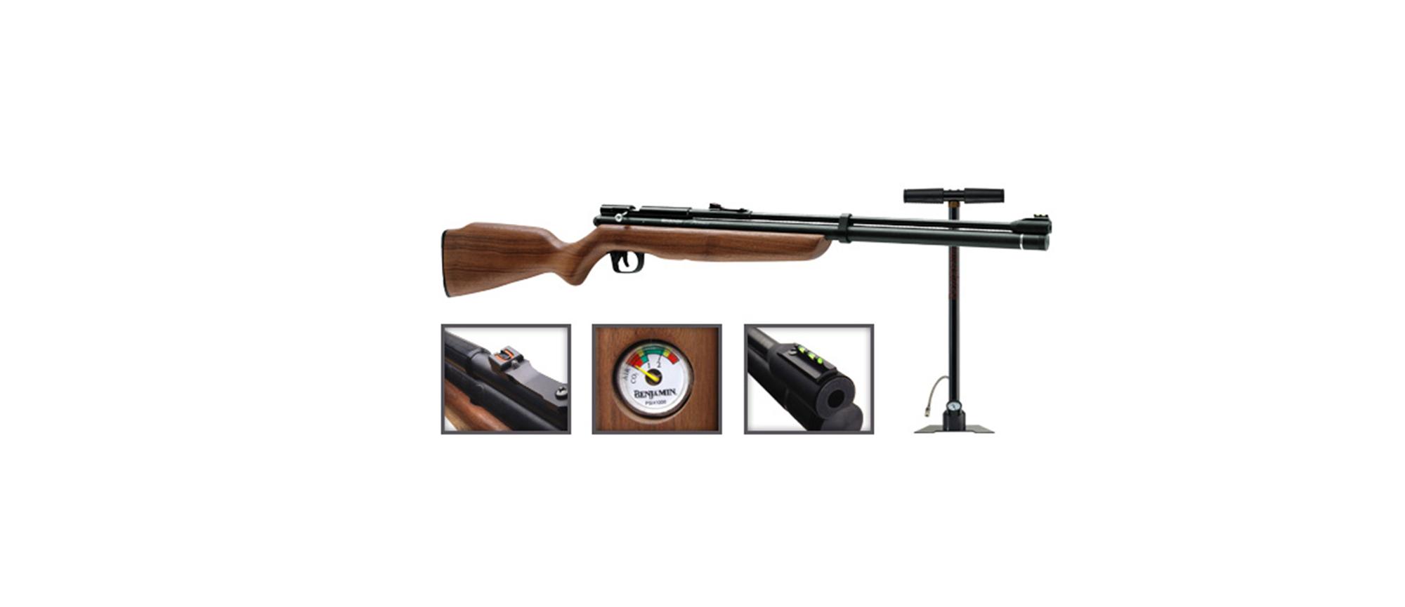 Carabina de aire CROSMAN DISCOVERY calibre 5.5 vel
