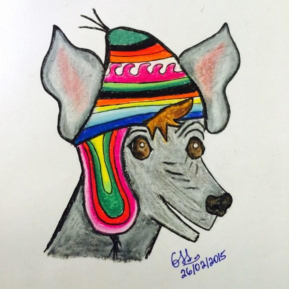 El Perro Peruano - Caricatura de Giuliana Sanchez Samaniego