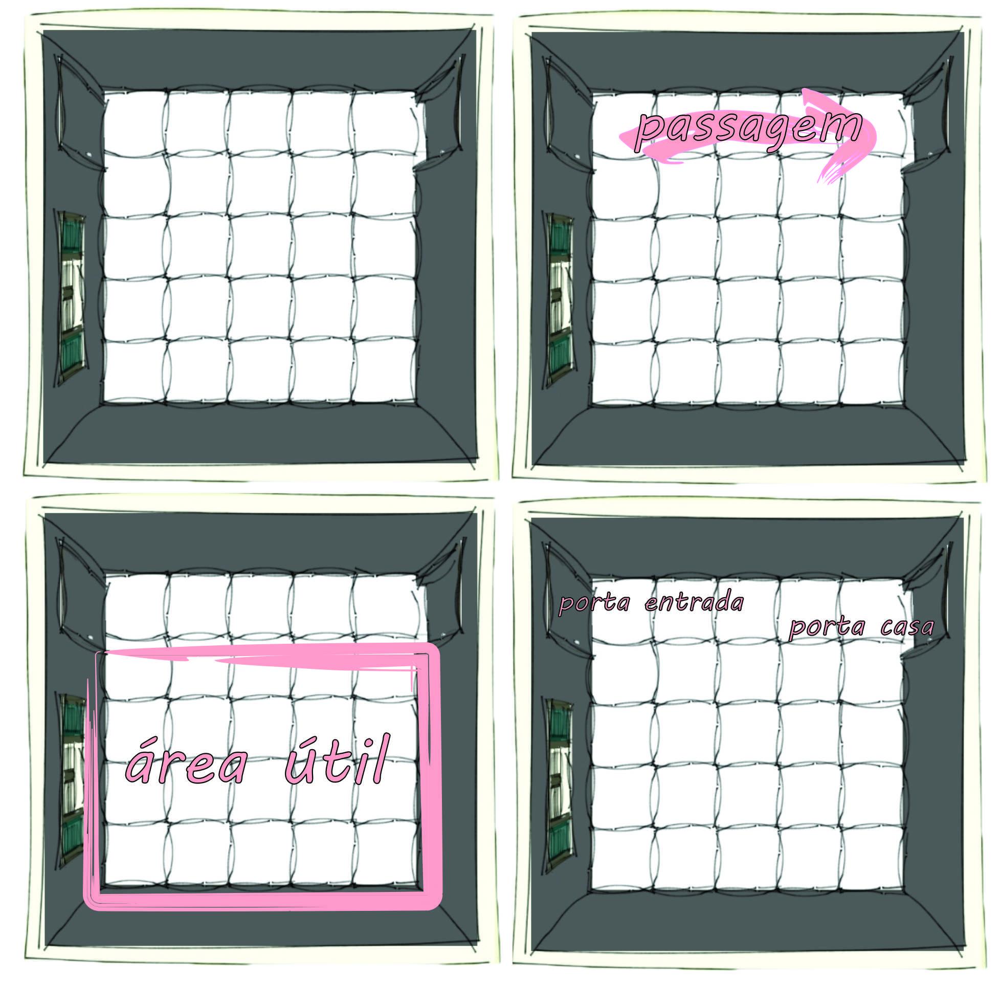 Como decorar uma sala quadrada  limaonagua