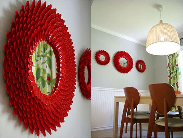 DIY  10 peas de decorao feitas com colheres de