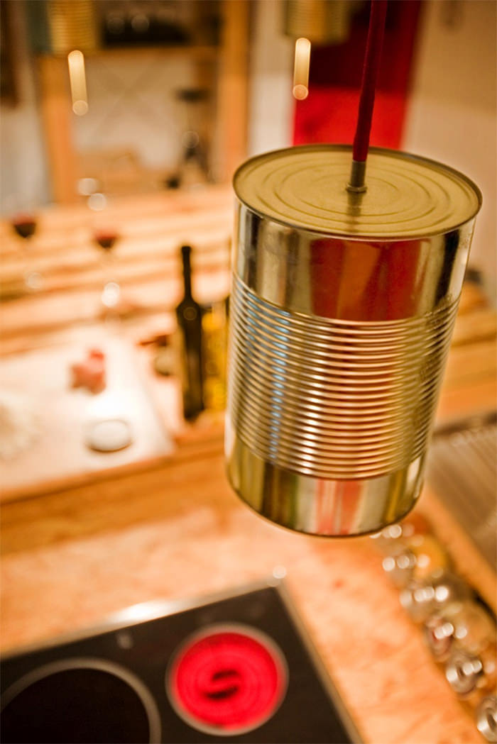 Cozinha feita com paletes reciclados  limaonagua