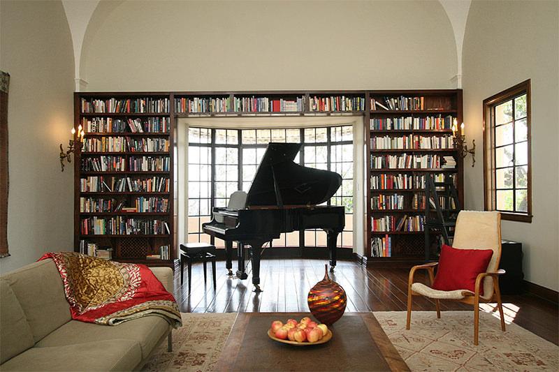 Piano na sala de estar 16 ideias para voc se inspirar