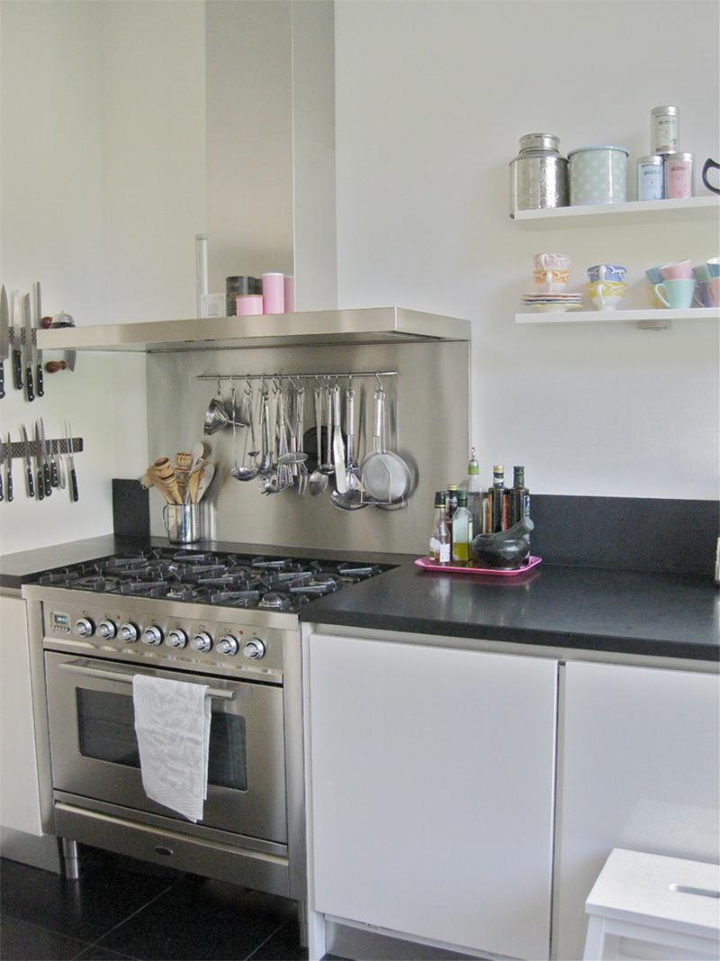 Utenslios de cozinha na parede 15 lindas ideias para