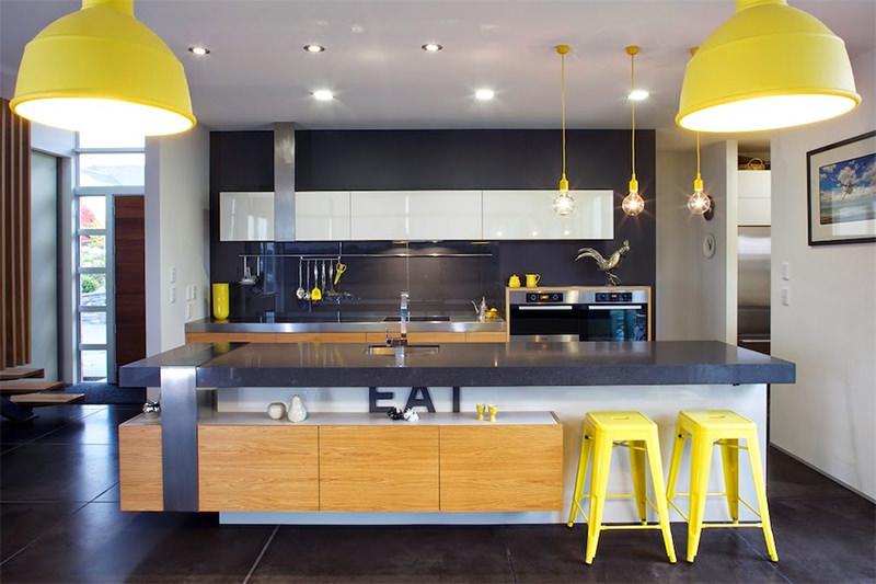 12 cozinhas amarelas pra quem gosta de fugir do
