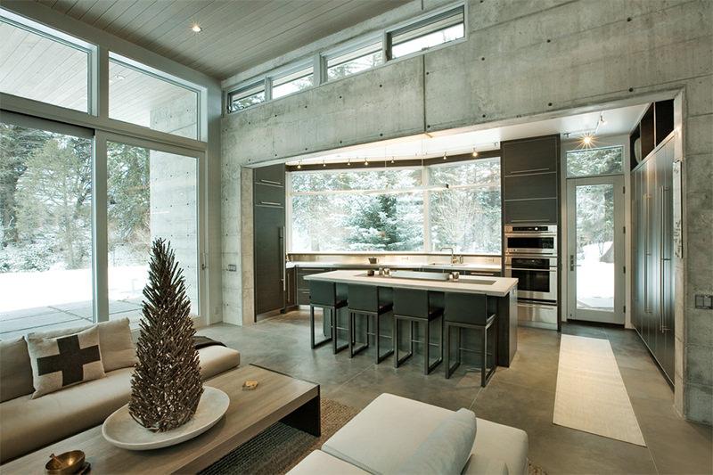 23 ideias de interiores com concreto  limaonagua
