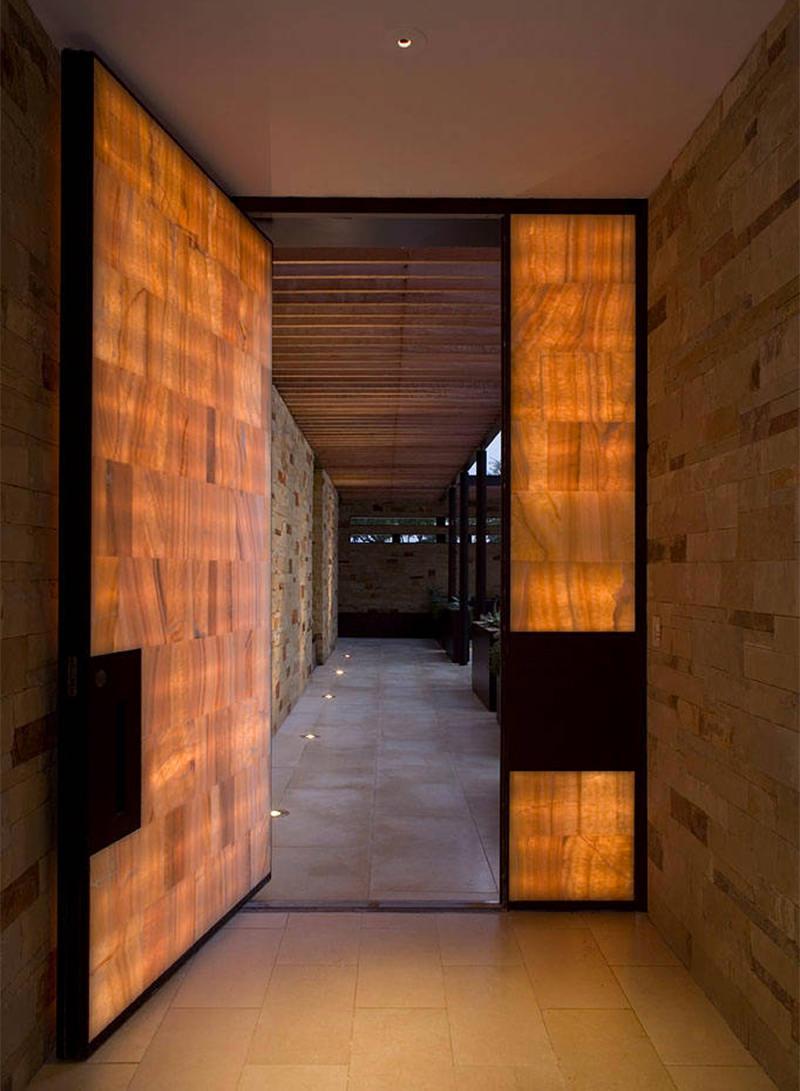 10 ideias bacanas para a porta de entrada  limaonagua