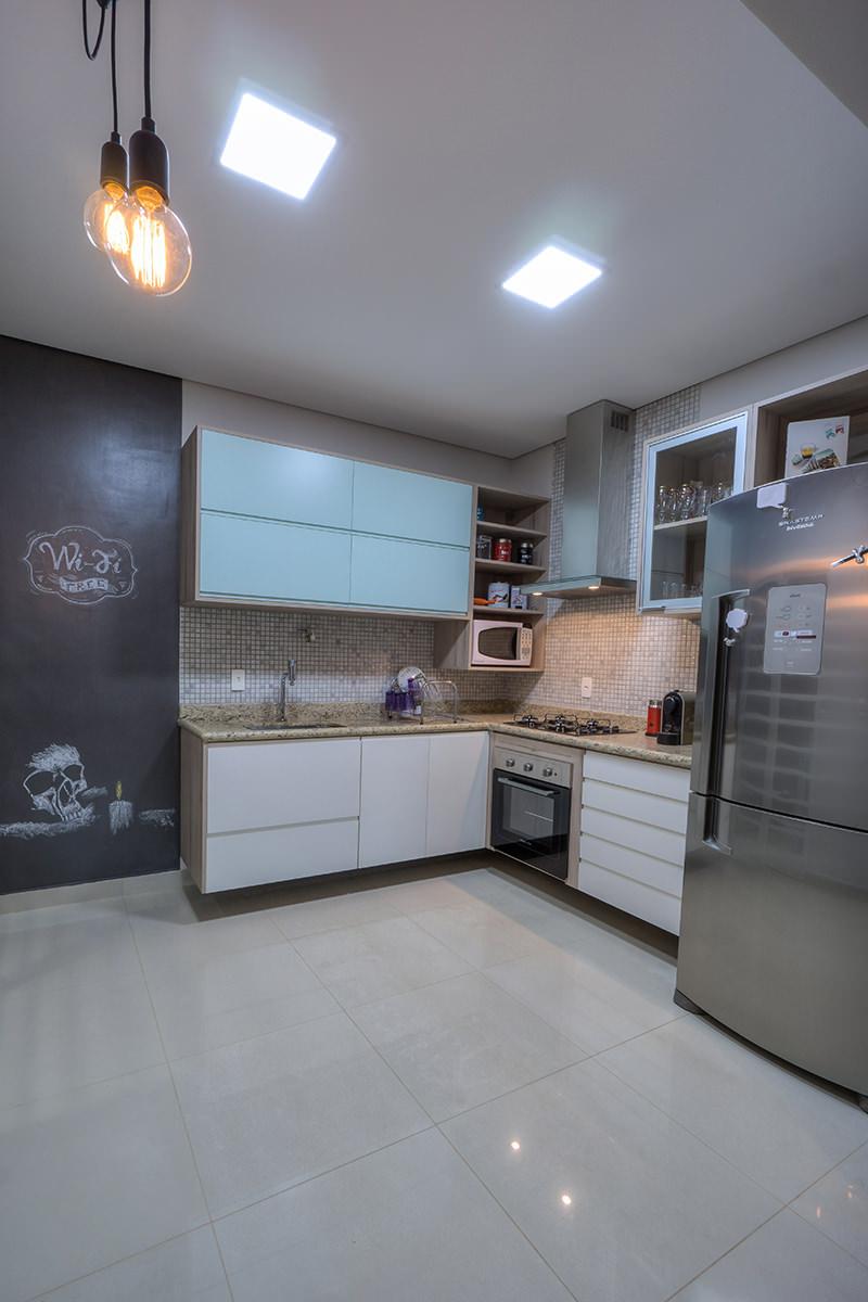 Projeto limaonagua reforma de uma cozinha pequena