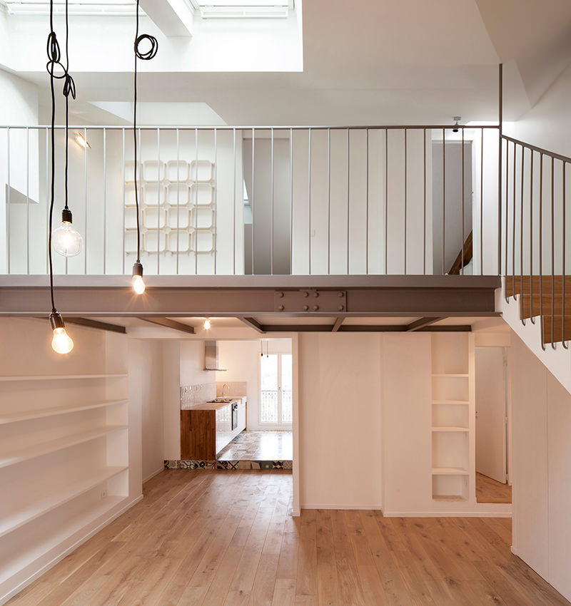 Apartamento duplex de 80 metros quadrados decorado
