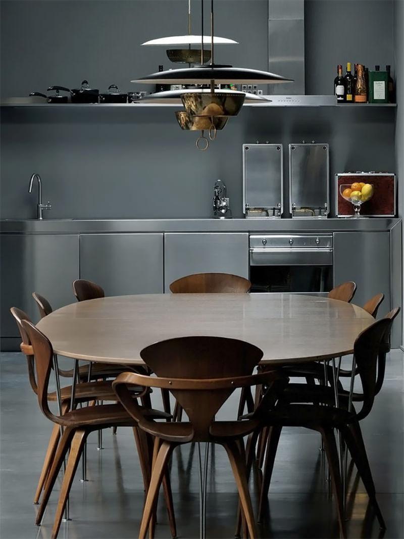 15 imagens inspiradoras de cozinhas com mesa  limaonagua